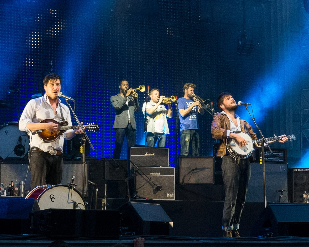 Mumford and Sons - Berkeley Greek Theater