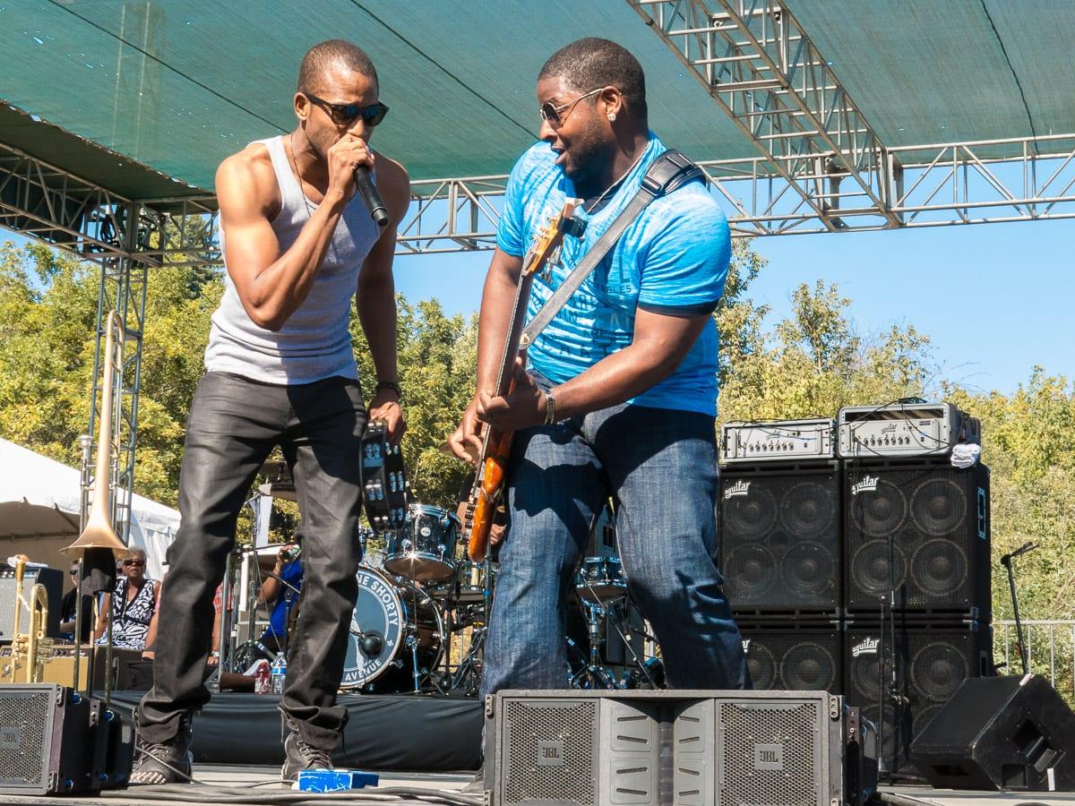 Troy with Michael Ballard